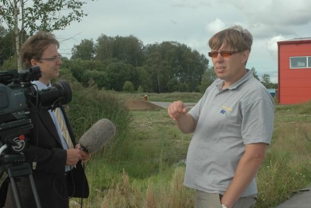 Interview with Plant Manager Peep Kruuser at Saaremaa, Estonia