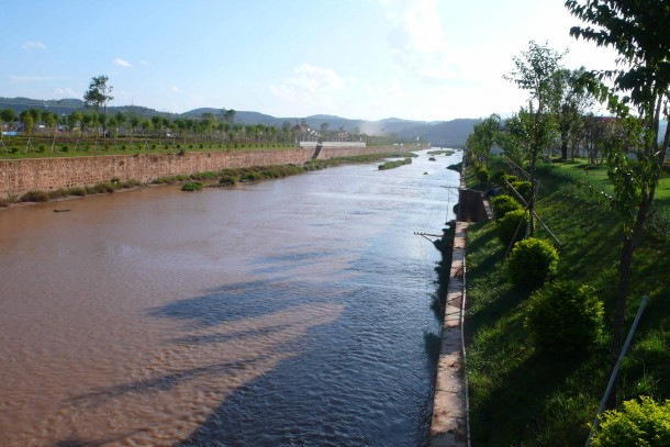 River scenery in the Yunnan province where NeCF has invested in small scale hydropower.