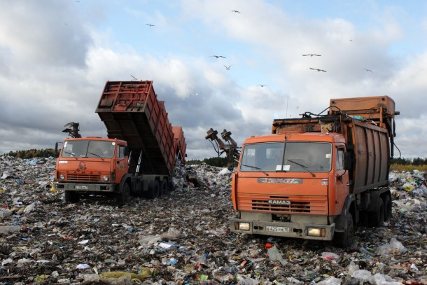 Waste management in Petrozavodsk. A testing ground for the newly published sourcebook.