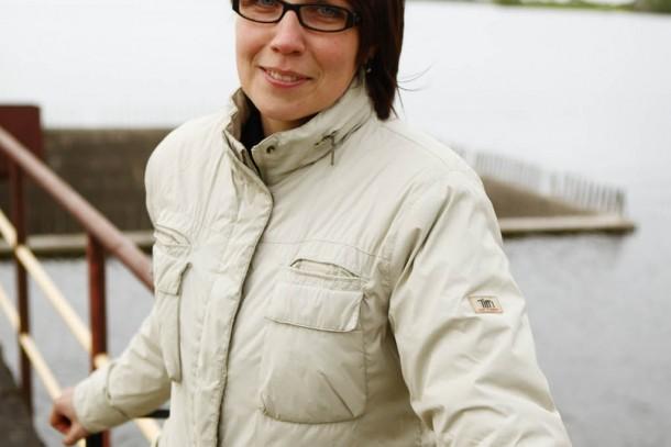 Ausra Skaudaite, Managing Director of UAB Baltic Hydroenergy. Photograph: Patrik Rastenberger