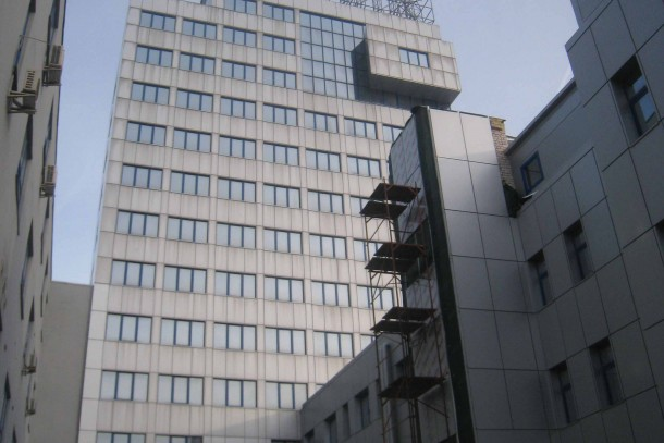 The head office of OJSC Kiev Margarine in Ukraine. Photo: Thorhallur Thorsteinsson