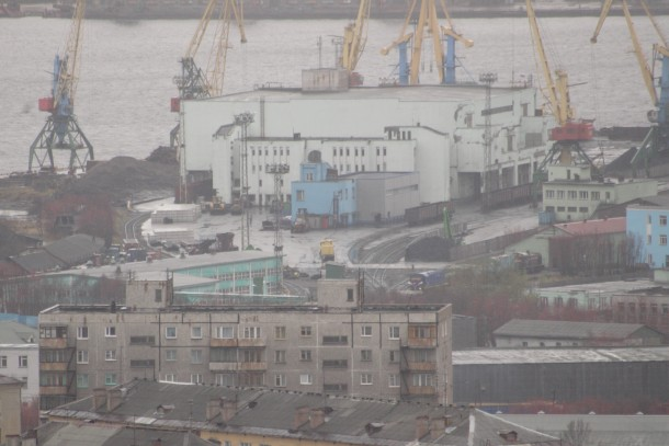 Murmansk hosts one of Russia's oil harbours. Photo: Patrik Rastenberger