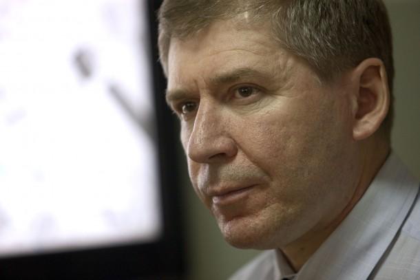 Director Evgeny Hatchaturov at Tieploseti St Peterburga. Photo: Patrik Rastenberger