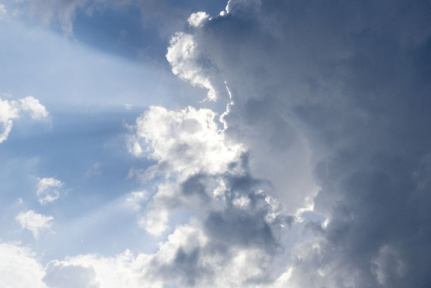 Cloudy skies. Combating climate change is one of NEFCO's key priorities. Photo: Patrik Rastenberger