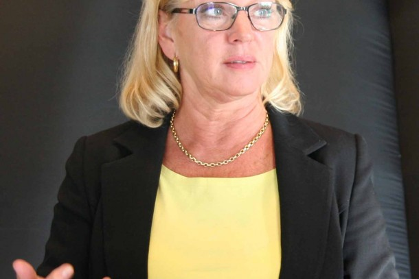 Ambassador Gabriella Lindholm. Photo: Kyra Koponen