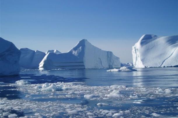Arctic waters. Photo: Nikolaj Bock, Nordic Council of Ministers