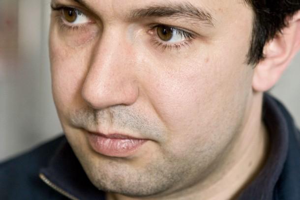 Chief Engineer, Alexandr Kravchenko, from OJSC Kiev Margarine Factory. Photo: Patrik Rastenberger