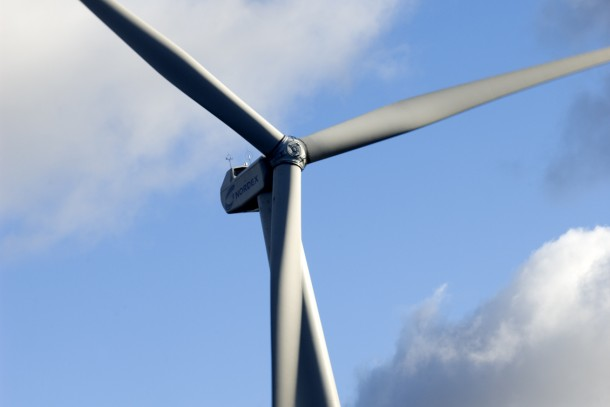 NEFCO has purchased emission reduction units from Chinese wind farms since 2008. Photo: Patrik Rastenberger