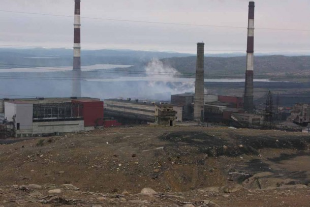 The smelter in Nickel, Pechenga remains on the list.