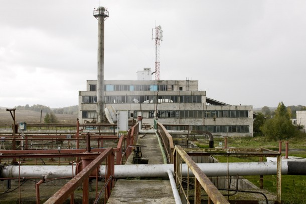 The wastewater treatment plant will be upgraded partly with a loan from NEFCO. Photo: Patrik Rastenberger