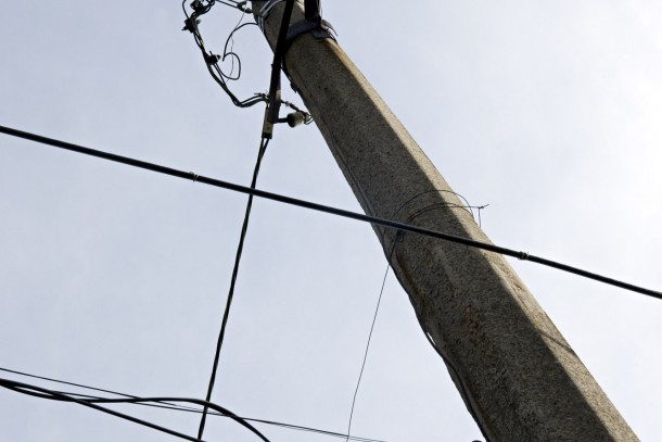 The project in Gorlivka aims at replacing 1,100 street lamps. Photo: Patrik Rastenberger