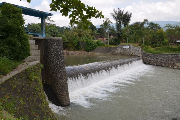 The project in West Java will generate about 47 GWh of power annually. Photo: TGR