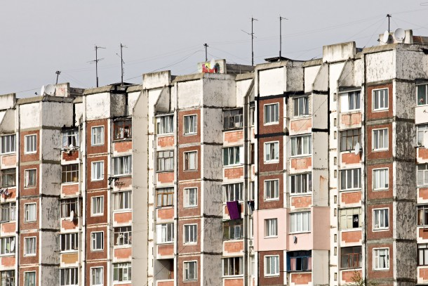Blocks of flats in Zhytomyr, Ukraine. Photo: Patrik Rastenberger