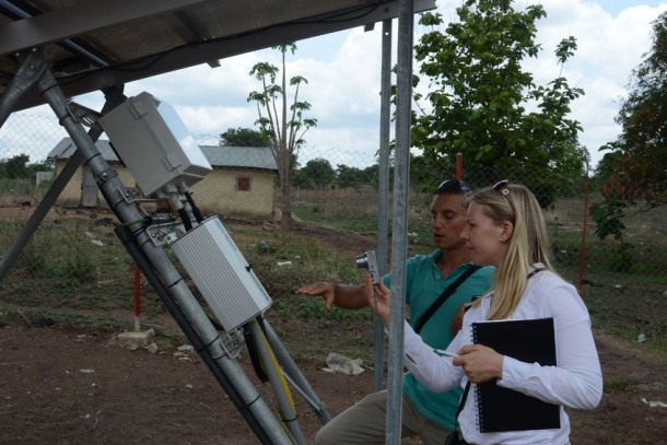 The NCF has, among other things, financed solar powered drip-irrigation in Benin. Photo: Robert Freling