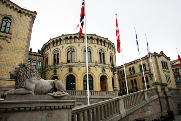 The Norwegian parliament Stortinget in Oslo. Photo: The Nordic Council of Ministers