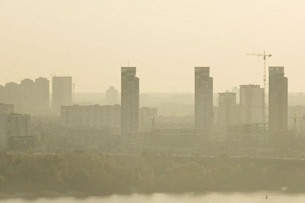 The outskirts of Kiev at dawn. Photo: Patrik Rastenberger