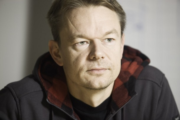 Senior Adviser Timo Seppälä from the Finnish Environment Institute. Photo: Patrik Rastenberger