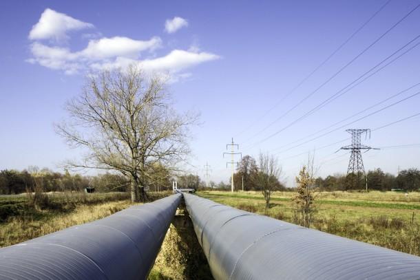District heating pipelines in Ukraine. Photo: Patrik Rastenberger