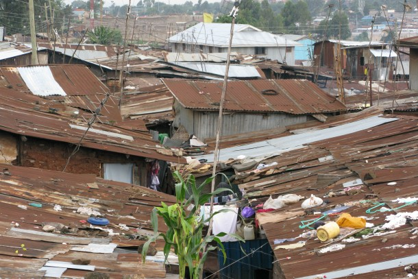 The suburbs of Nairobi, Kenya. Photo: Kari Hämekoski, NEFCO