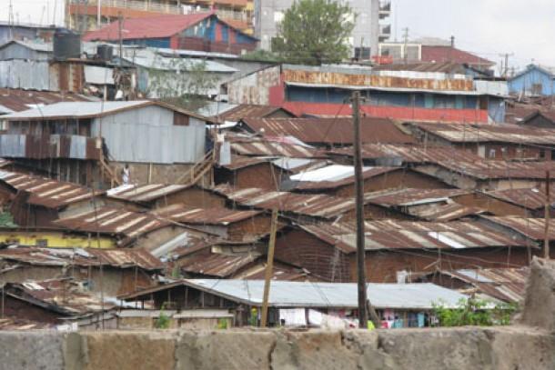 Kibera is the largest urban slum in Africa. Photo: Kari Hämekoski