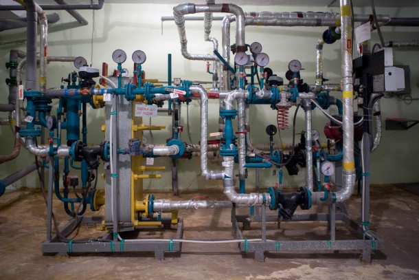 The project in Ivano-Frankivsk comprises the installation of 39 individual heating substations. Photo: Patrik Rastenberger