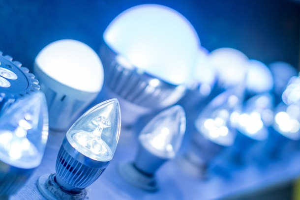 LED lighting is one of the sectors represented among the approved projects. Photo: Shutterstock