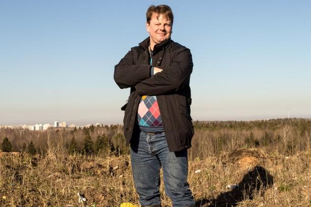 Project Manager Jesper Nyqvist runs Vireo Energy's project in Vitebsk. Photo: Patrik Rastenberger