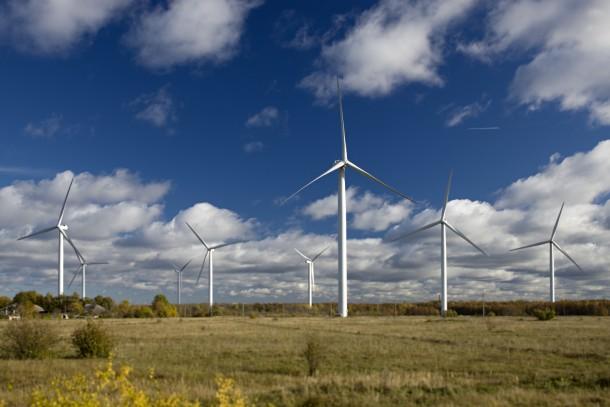 A NEFCO-financed wind farm in Paldiski, Estonia. Photo: Patrik Rastenberger