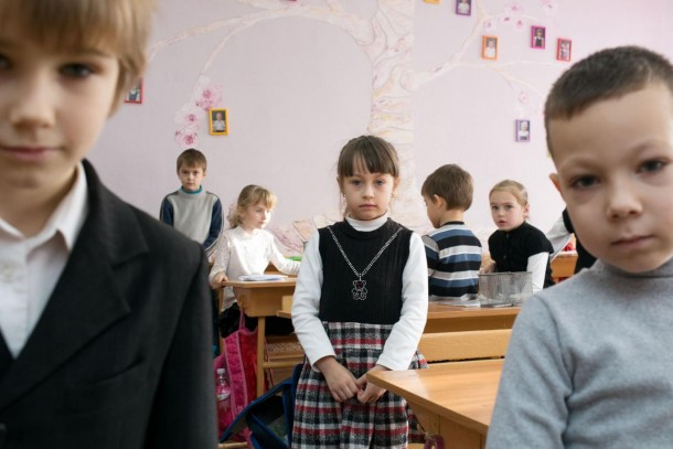School children in Kherson will benefit from Norway's contribution. Photo: Patrik Rastenberger