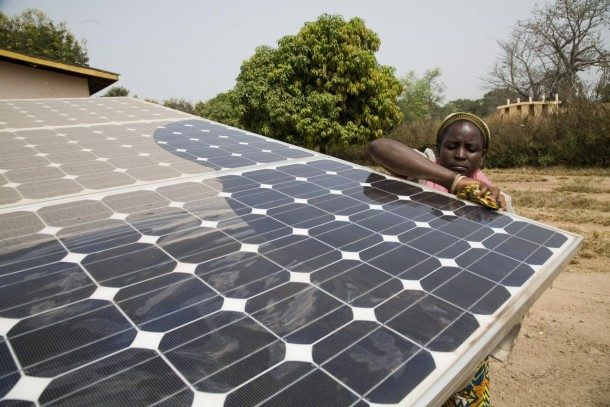 The REBi project in Uganda has promoted investments in solar power.