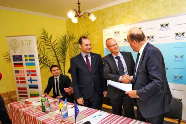 The agreement for the investment was signed in Ivano-Frankivsk on May 17. Photo: Jury Palivoda