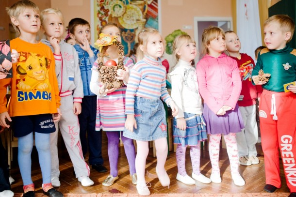 The upcoming investments will benefit Ukrainian children at a range of different daycare centres and schools. Photo: Patrik Rastenberger