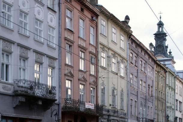 The City of Lviv in western Ukraine has over 700,000 inhabitants. Photo: Patrik Rastenberger