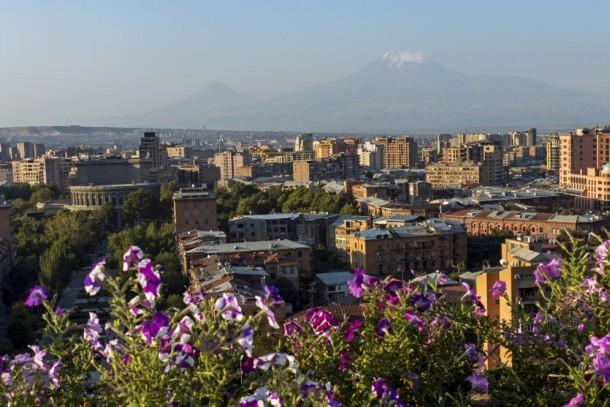 View of Yerevan, the capital of Armenia. Photo: Shutterstock/Mikhail Pogosov