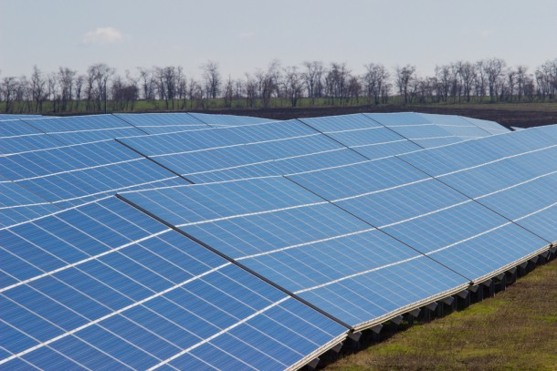Over 130,000 solar panels will be constructed at the new solar plant in Ternovytsa. Photo: Shutterstock