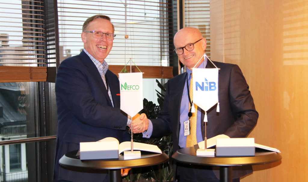 NEFCO and NIB sign loan to invest in green energy in Eastern Europe