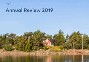 Nopef Annual Review 2019 cover image