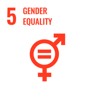 SDG 5 Gender equality icon